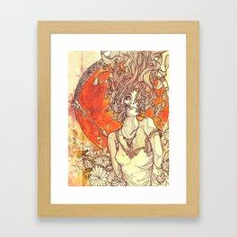 Psyche & Cupid Framed Art Print