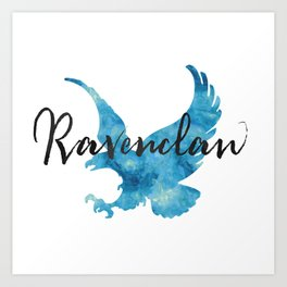 Ravenclaw Hogwarts House Pride Art Print