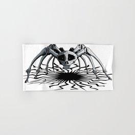 Skull Spider Hand & Bath Towel