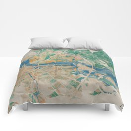 Amsterdam, the watercolor beauty Comforters