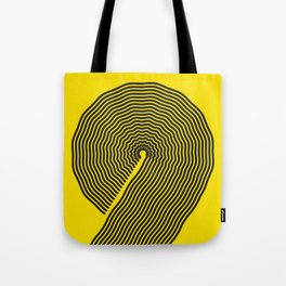 wobbly 9 Tote Bag