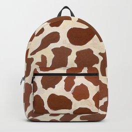 wild animals: giraffee pattern Backpack