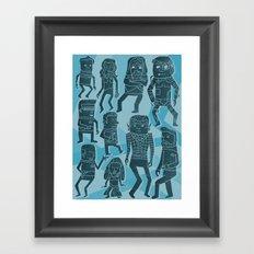Holodeck Framed Art Print