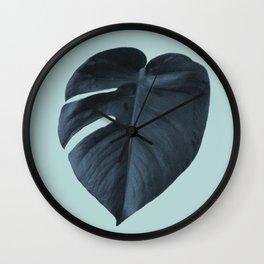 Monstera 01 Wall Clock