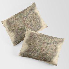 Map of Ireland 1799 Pillow Sham