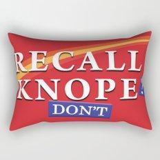 Recall Knope Rectangular Pillow