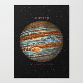 Jupiter Canvas Print