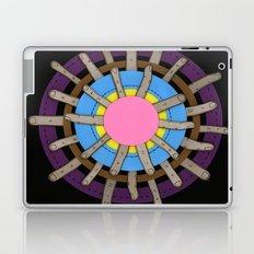 radial blame II Laptop & iPad Skin