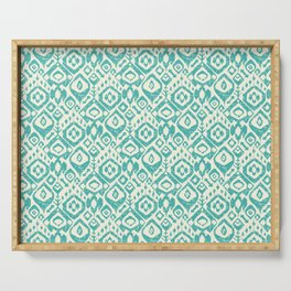 lezat turquoise Serving Tray
