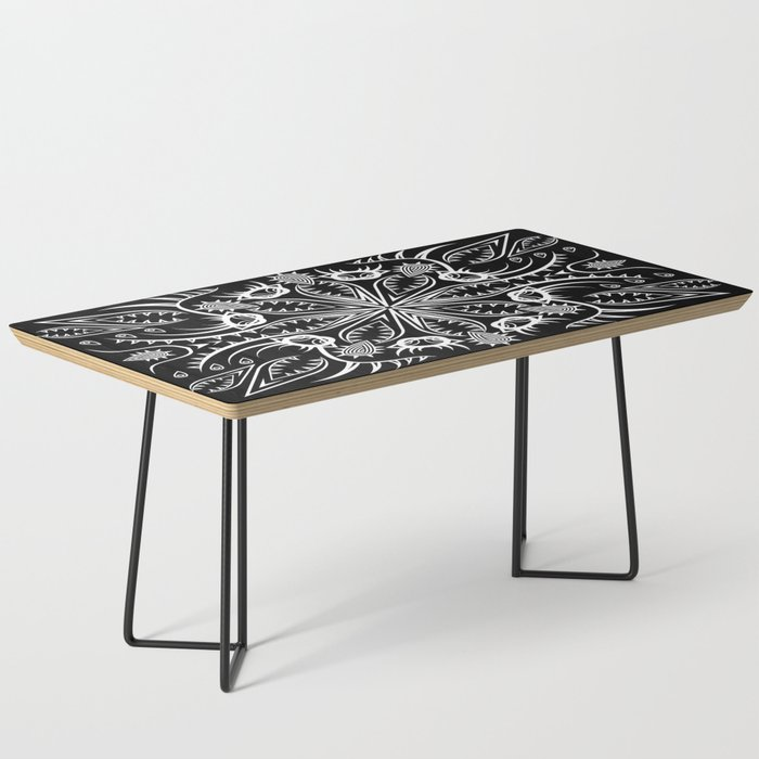 Geometric Nature Coffee Table By Claudiafanciullacci Society6