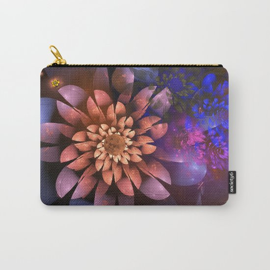 Cosmic flowers in universe Carry-All Pouch