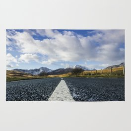 Road To Snowdon Rug