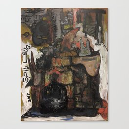 Corner Canvas Print