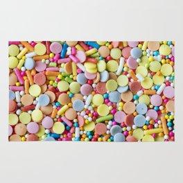 Rainbow Candy Sprinkles Rug