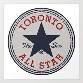 TORONTO ALL STAR Art Print
