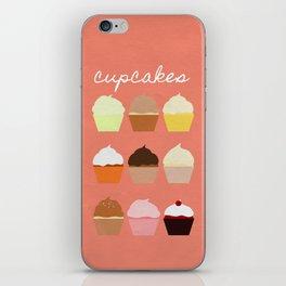 Baker's Joy Collection: Cupcakes iPhone Skin