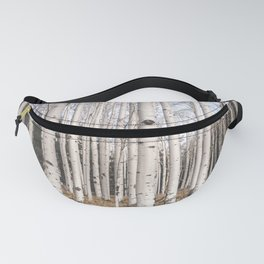 Trees of Reason - Birch Forest Fanny Pack