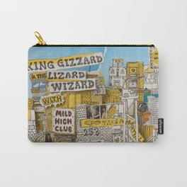 King Gizzard & The Lizard Wizard & Mild High Club - Sketches Of Brunswick East Carry-All Pouch
