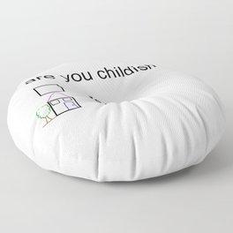 Litmus Floor Pillow
