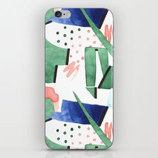Bubblegum garden iPhone Skin