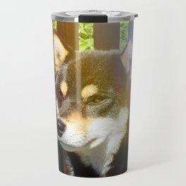 Summer Kuma Travel Mug