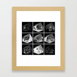 ourhouse.blend [Home remix] Framed Art Print