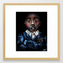 Young Jefe Framed Art Print