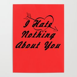 Love,Red Poster