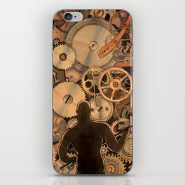 Steel Drivin' Man iPhone Skin