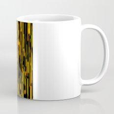 vertical brush orange version Mug