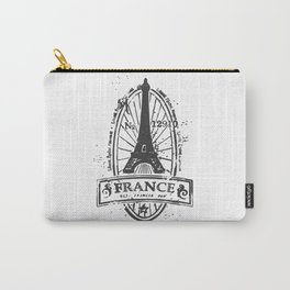 France Stamp Carry-All Pouch