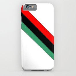 flag of libya 2-Libyan,Tripoli,benghazi,misurata,bayda,cyrenaica iPhone Case