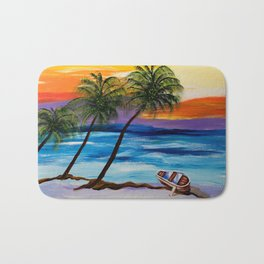 Sunset Magic Bath Mat