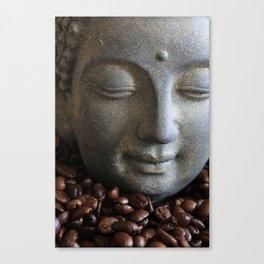coffee buddha Canvas Print