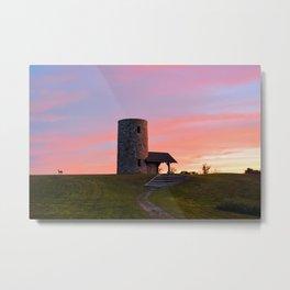 Pilot Knob Tower Metal Print