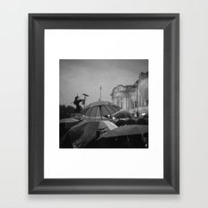 The first story Framed Art Print