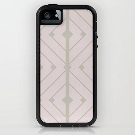 MONO:CHROMA Geometrica Earthy Pink II iPhone Case