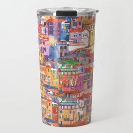 Seamless Cinque Terre Travel Mug