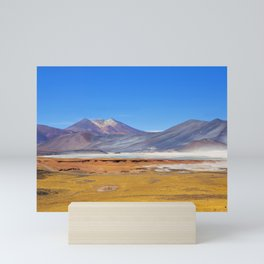 Atacama Salt Lake Mini Art Print