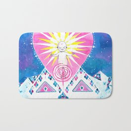 Sun of God Bath Mat