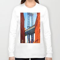 dumbo Long Sleeve T-shirts featuring Dumbo by Michael Sofronski