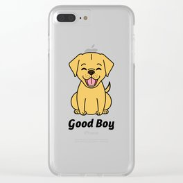 Good Puppy Clear iPhone Case