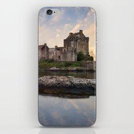 Eilean Donan Castle at sunrise iPhone Skin
