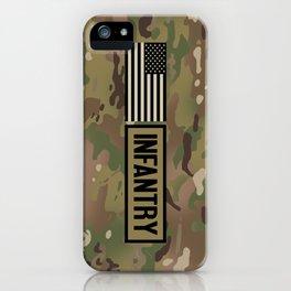 Infantry (Camo) iPhone Case