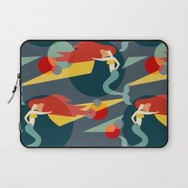Colour Block Mermaids Laptop Sleeve