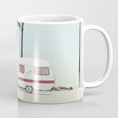 NEVER STOP EXPLORING - CAMPING PALM BEACH Mug