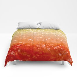 Watermelon Ombre Comforters
