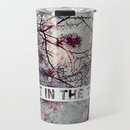 Silent In The Trees Travel Mug