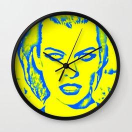 Milla Jovovich Pop Art Wall Clock