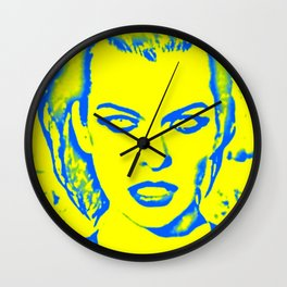 Milla Jovovich Pop Art Wall Clock